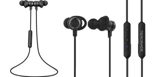 Amazon: Tiergrade Wireless Bluetooth Headphones Only $17.99 (Regularly $29.99+)