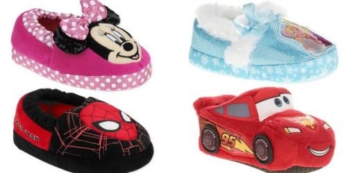 Walmart: Toddler Slippers Only $3.88 (Regularly $9.97) – Disney Frozen, Minnie Mouse & More