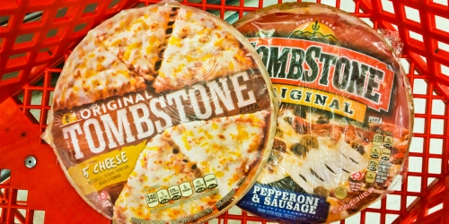Tombstone Original Pizzas Only $2 Each on Target.com | Easy Weeknight Dinner Idea