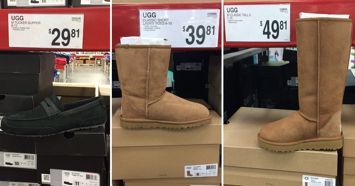 df235aca95f Sam's Club Reader Find: UGG Slippers Only $29.81 & UGG Boots As Low ...