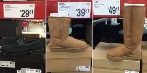 Sam's Club Reader Find: UGG Slippers Only $29.81 & UGG Boots As Low As $39.81