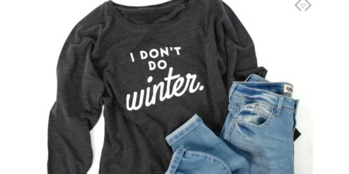 EXTRA 50% Off Cents of Style Sweatshirts + FREE Shipping
