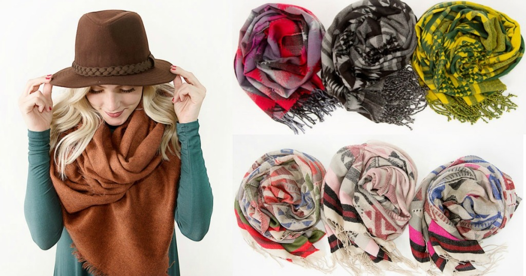 Cents of Style Blanket Scarves