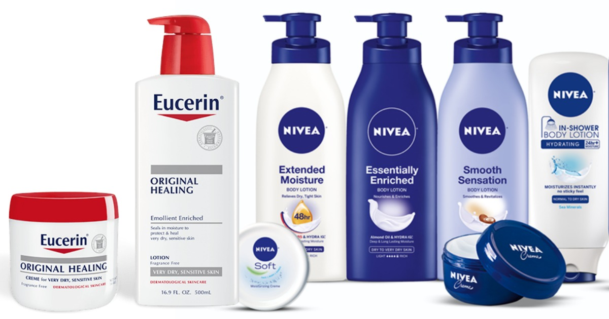 image about Eucerin Coupons Printable named Higher Worthy of $2/1 Nivea AND Eucerin Discount coupons \u003d Nivea Entire body Creme