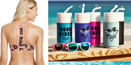 Victoria's Secret: PINK T-Shirt Bra, Water Bottle AND Sunglasses Only $20 Shipped (Reg. $74.40)