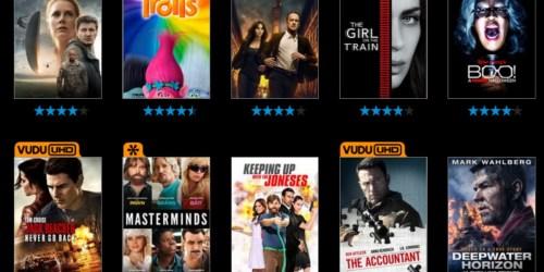 VUDU: 20% off Digital Movie Purchase or Rental