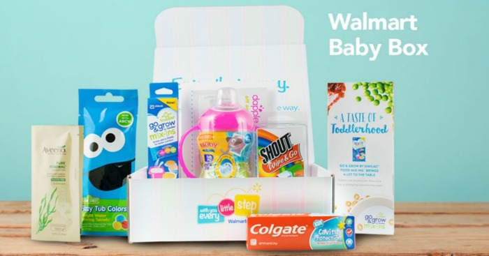 Walmart: FREE Baby Welcome Box (Available Again)