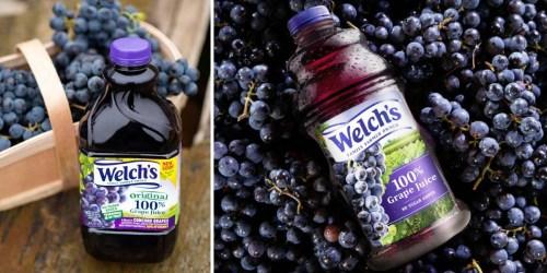 Rare $0.75/1 Welch's 100% Grape Juice Coupon