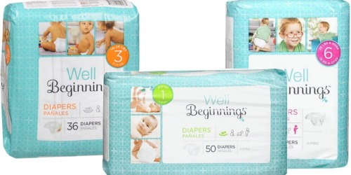 Walgreens.com: Well Beginnings Diapers as Low as UNDER $4 Per Jumbo Pack (After Rewards)