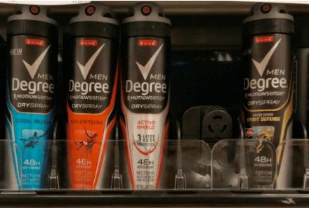 Men's Degree Deodorant