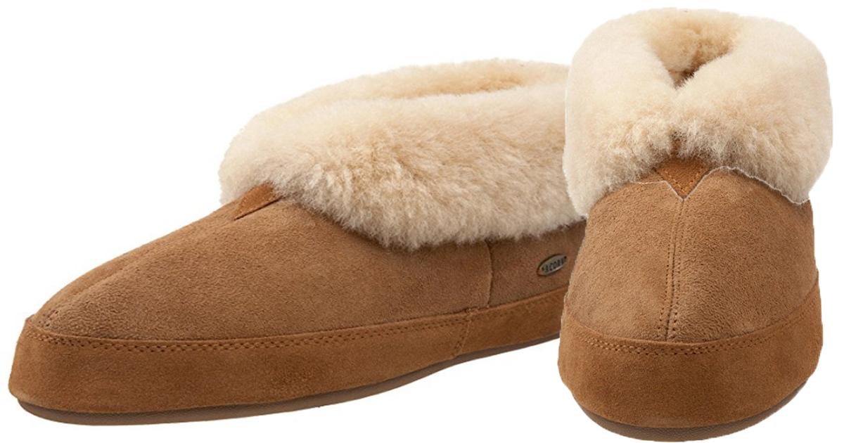 52550091464 Amazon  ACORN Men s Sheepskin Bootie Slippers as Low as ONLY  24- 32 ...