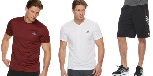Kohl's Cardholders: Men's Adidas Activewear ONLY $11.66 Each (When You Buy 3)