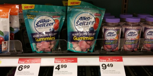 High Value $2/1 Alka-Seltzer Coupon = Inexpensive Heartburn Relief Gummies At Target