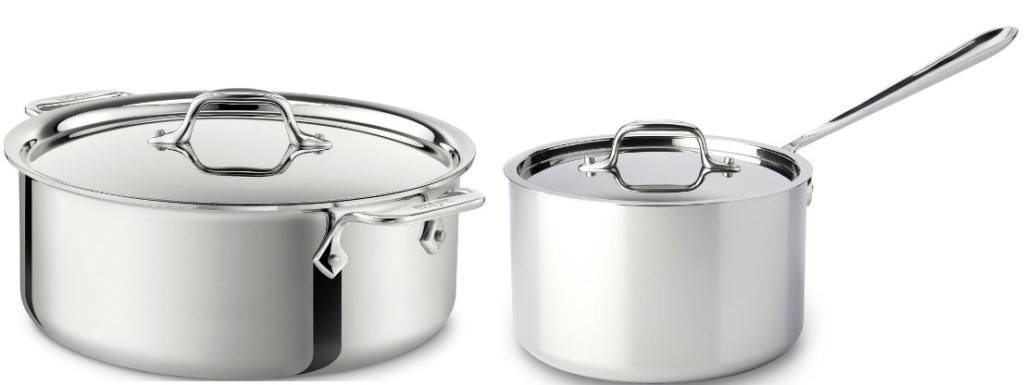 Huge Sale On All Clad Cookware Stainless Steel Pan W