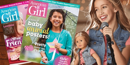 American Girl Magazine Subscription Just $14.95 Delivered (Only $2.49 Per Issue)
