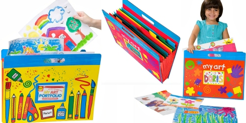 Store Your Kiddos Artwork w/ This ALEX Toys Little Hands My Art Portfolio for $12.89 (Regularly $24.50)