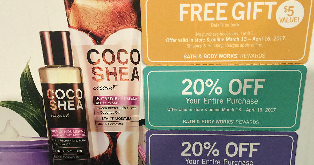 16 secrets for saving big at bath & body works – mailer goodies