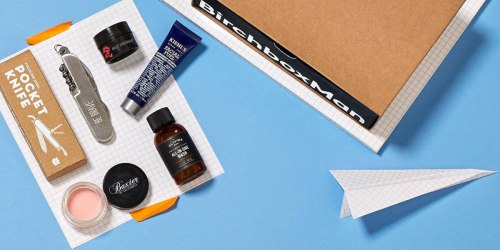 Birchbox Man: TWO Men's Boxes ONLY $20 Shipped (New Subscribers Only)