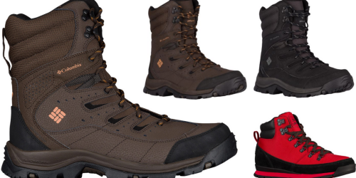 Columbia Men's Boots Or The North Face Boots Only $53.99 Shipped (Regularly Up To $119.99)