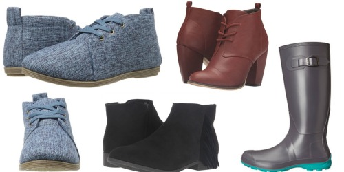 6PM.com: Free Shipping ALL Orders = Women's Booties Only $12.99 Shipped & More