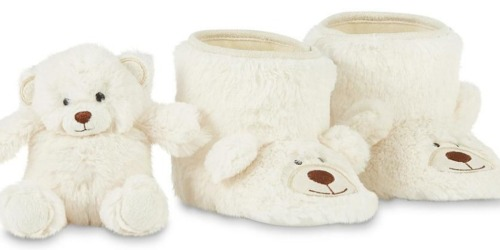 Kmart.com: Girls' WonderKid Bear Bootie Slippers AND Matching Plush Only $7 (Regularly $16.99)