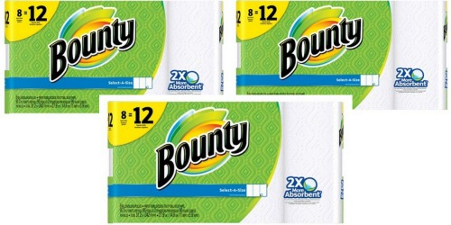 Target.com: Bounty GIANT Paper Towels 8-Count Only $6.16 Each (After Gift Card) + More