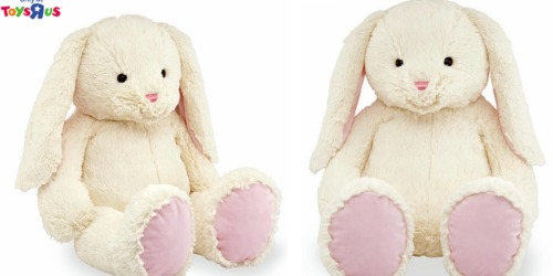 ToysRUs Brand Plush 22-inch Bunny Only $19.99 (Regularly $29.99)