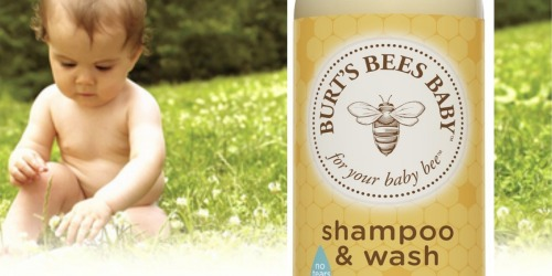 Amazon: THREE Burt's Bees Baby Shampoo & Wash Bottles Only $19.22 Shipped