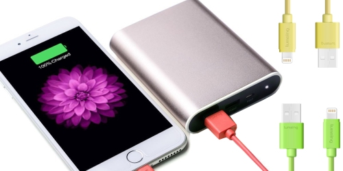 Amazon: Lumsing Apple MFI Certified Lightning To USB Charging Cable Only $4.89