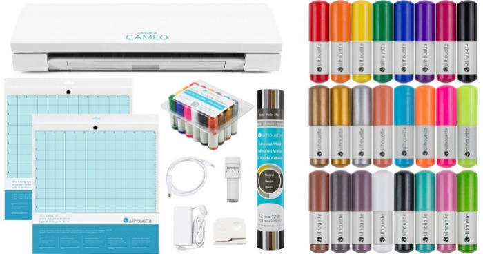 Amazon Silhouette Cameo 3 Craft Bundle Only 210 Shipped
