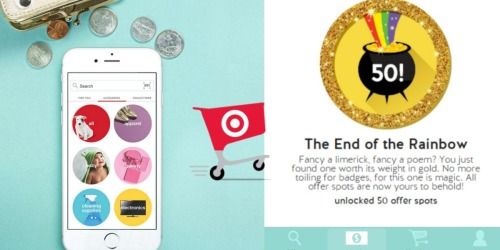Target Cartwheel: Offer Spots Now Increased to 50