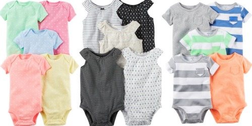 Carter's Bodysuits as low as ONLY $1.95 Each Shipped
