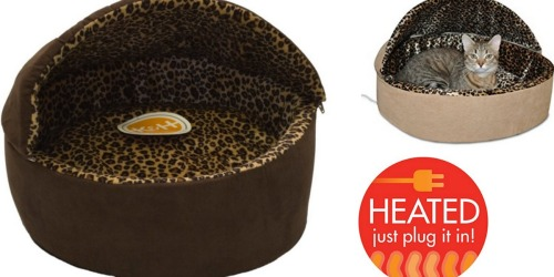Amazon: Highly Rated K&H Heated Cat Beds Only $17.99 (Regularly $34.99)