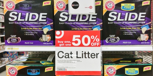 Target: Arm & Hammer Slide Cat Litter Only $5.03 (Reg. $12.49) + Great Deal On Beneful Dog Treats