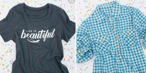 Cents of Style Graphic Tees, Sweaters, Plaid Shirts, Skirts & More ONLY $10 Each Shipped