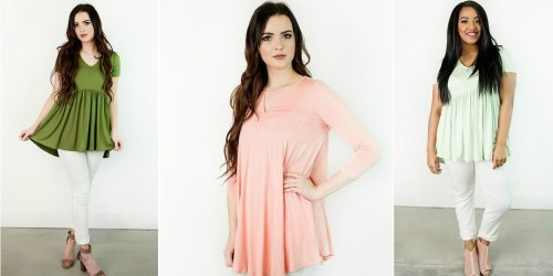 Cents of Style: Tunic Tops Only $19.95 Shipped (Regularly $34.95)