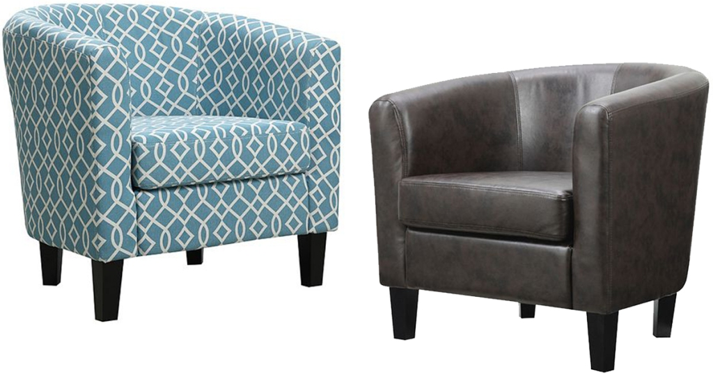 Riley Barrel Arm Chairs