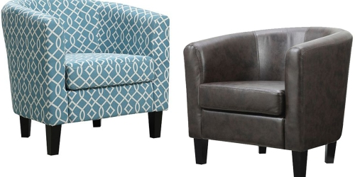 Kohl's: Riley Barrel Arm Chair Only $101.99 Shipped (Regularly $249.99) + Earn $20 Kohl's Cash