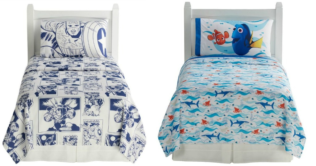 Kohls Com Character Twin 3 Piece Sheet Sets Only 16 99 Regularly