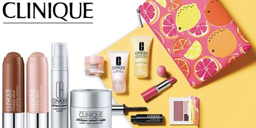 Macy's.com: $258 Worth of Clinique Items ONLY $59 Shipped + Earn $10 Macy's Cash