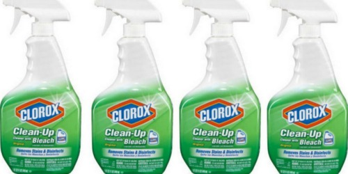 New Clorox Coupons = Clean-up Bottles Only $1.24 Each When You Buy 5 at Target (Starts 3/19)