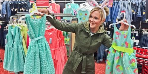 Target Shoppers! Buy 1 Get 1 50% Off Dresses, Including Cat & Jack Easter Dresses