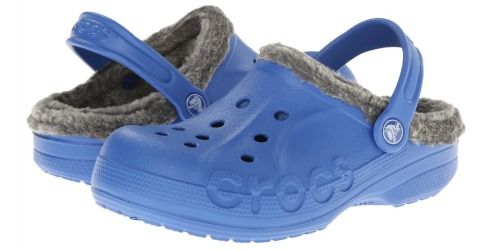 6PM.com: Crocs Kids Baya-Lined Clogs Only $10 Shipped + More