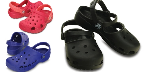 50% Off Crocs Clearance = Girl's Clogs Only $11.49