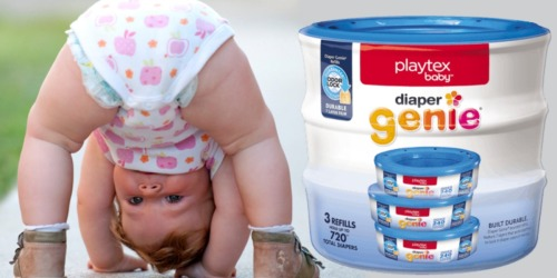Amazon Family: THREE Playtex Diaper Genie Refills Only $9.79 Shipped (Just $3.26 Each)