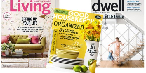3 Magazine Subscriptions ONLY $12