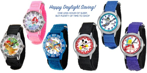 Disney Store: HUGE Savings On Customizable Watches For the Whole Family