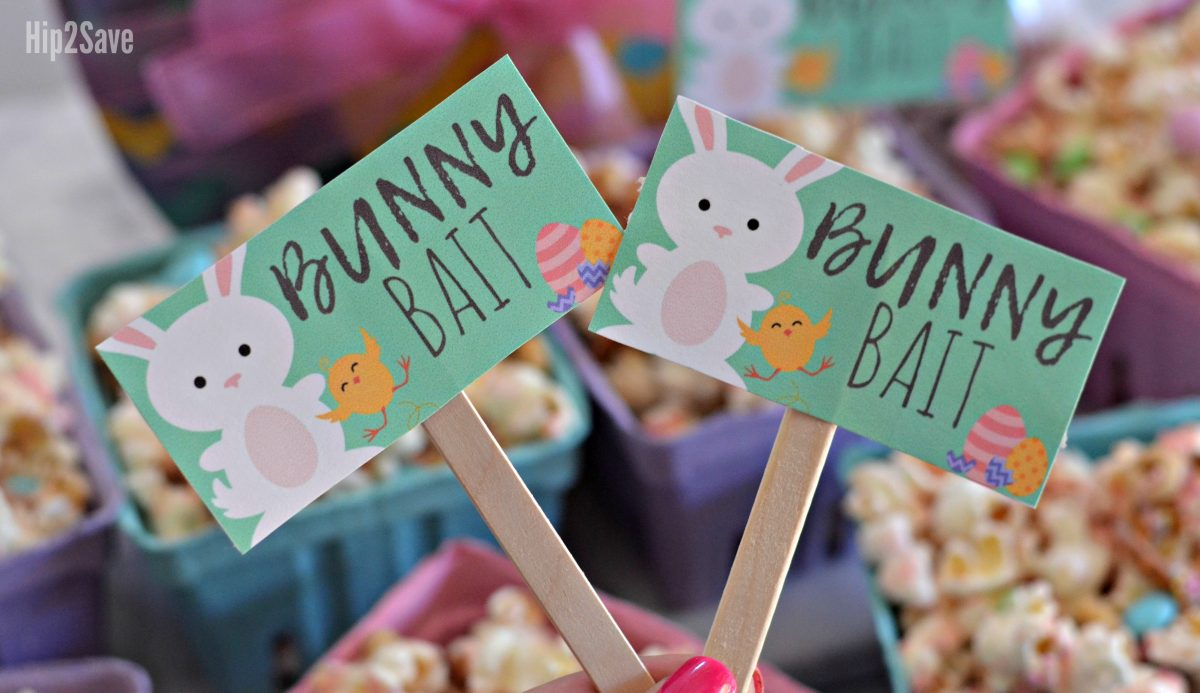 bunny bait signs