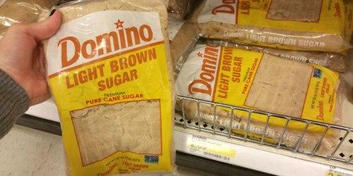 New Domino Sugar Coupons = Light Brown Sugar 2 lb Bag Only $1.40 at Target & More