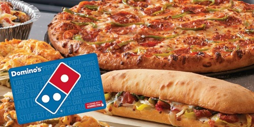 LivingSocial: $10 Domino's eGift Card ONLY $5 (Select Members Only)